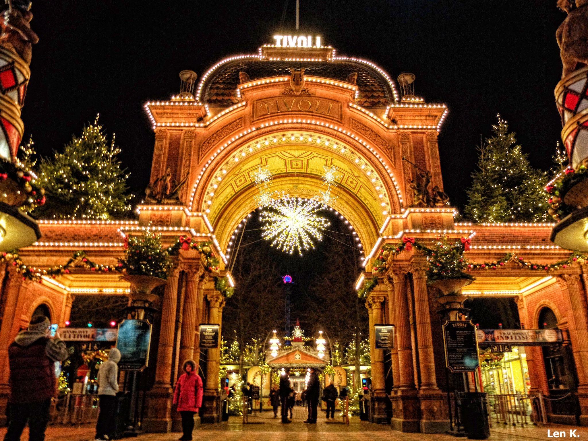 Tivoli's main entrance