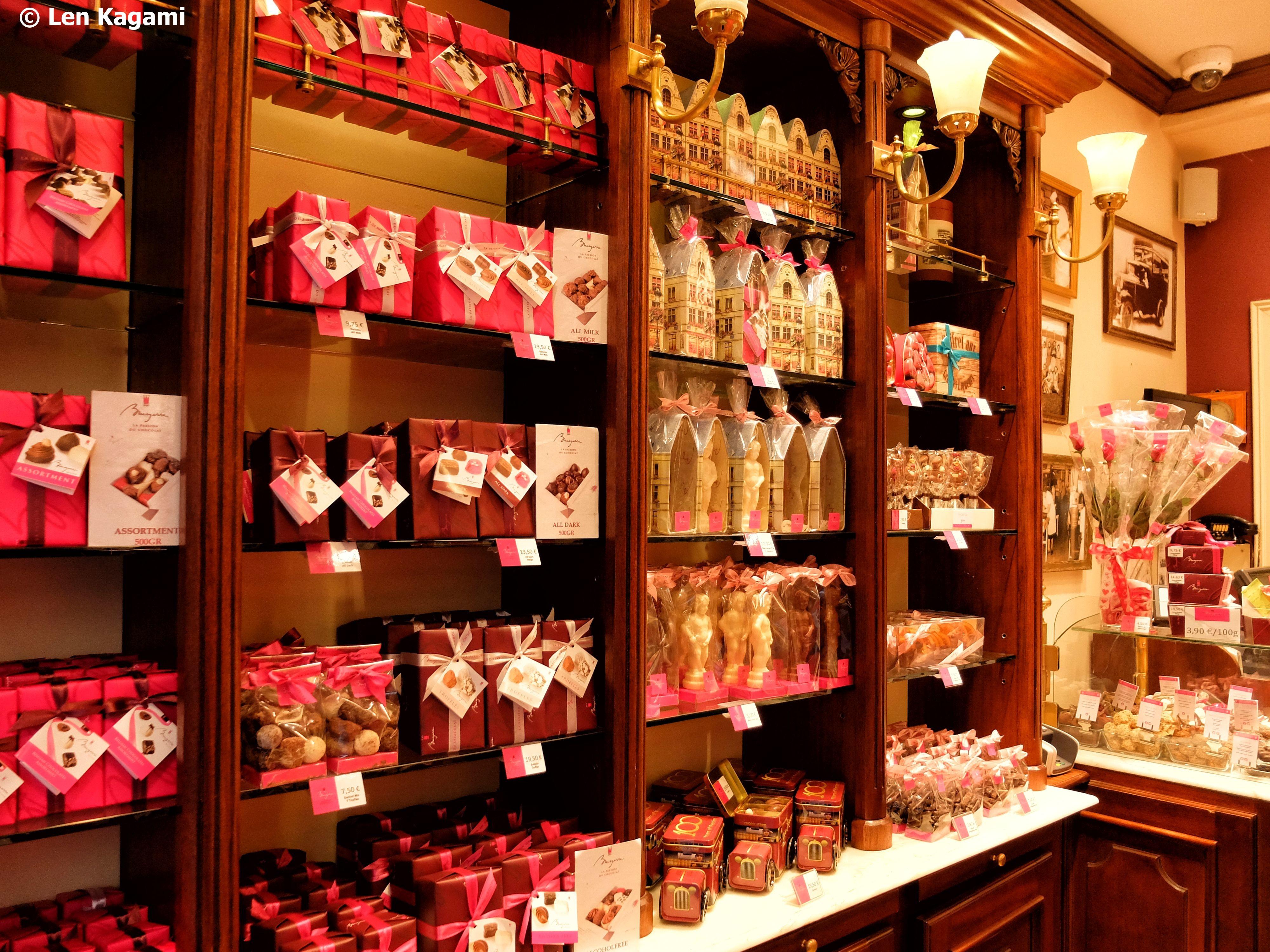 Beautiful sweet shop