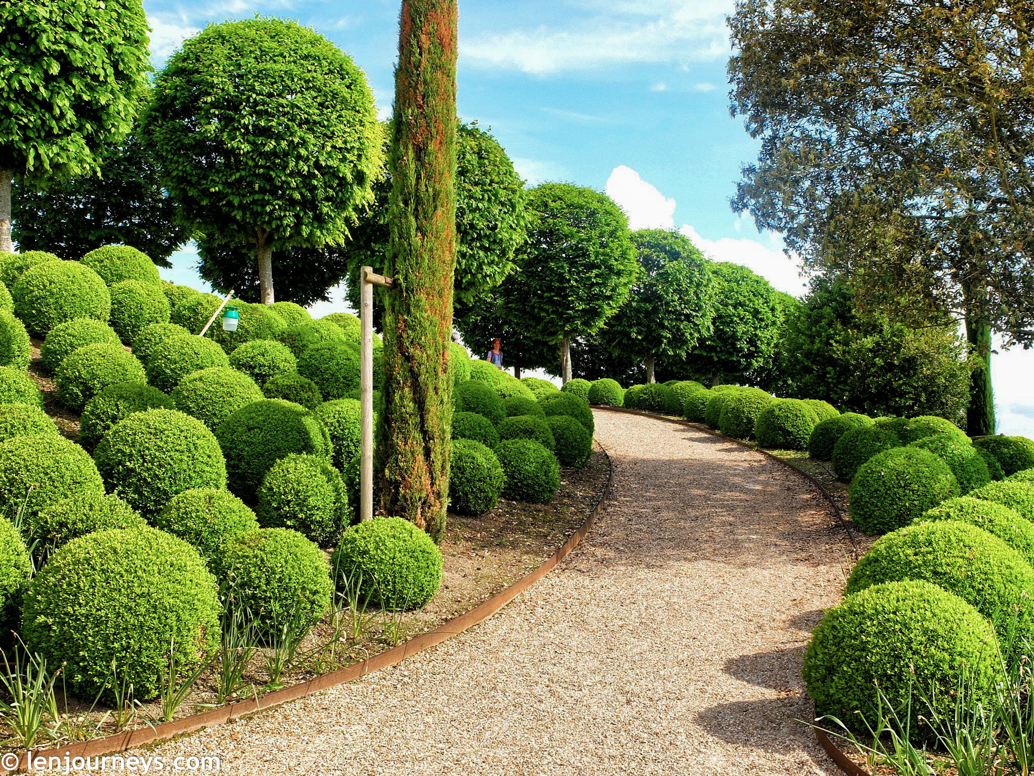 The Garden of Amboise Castle