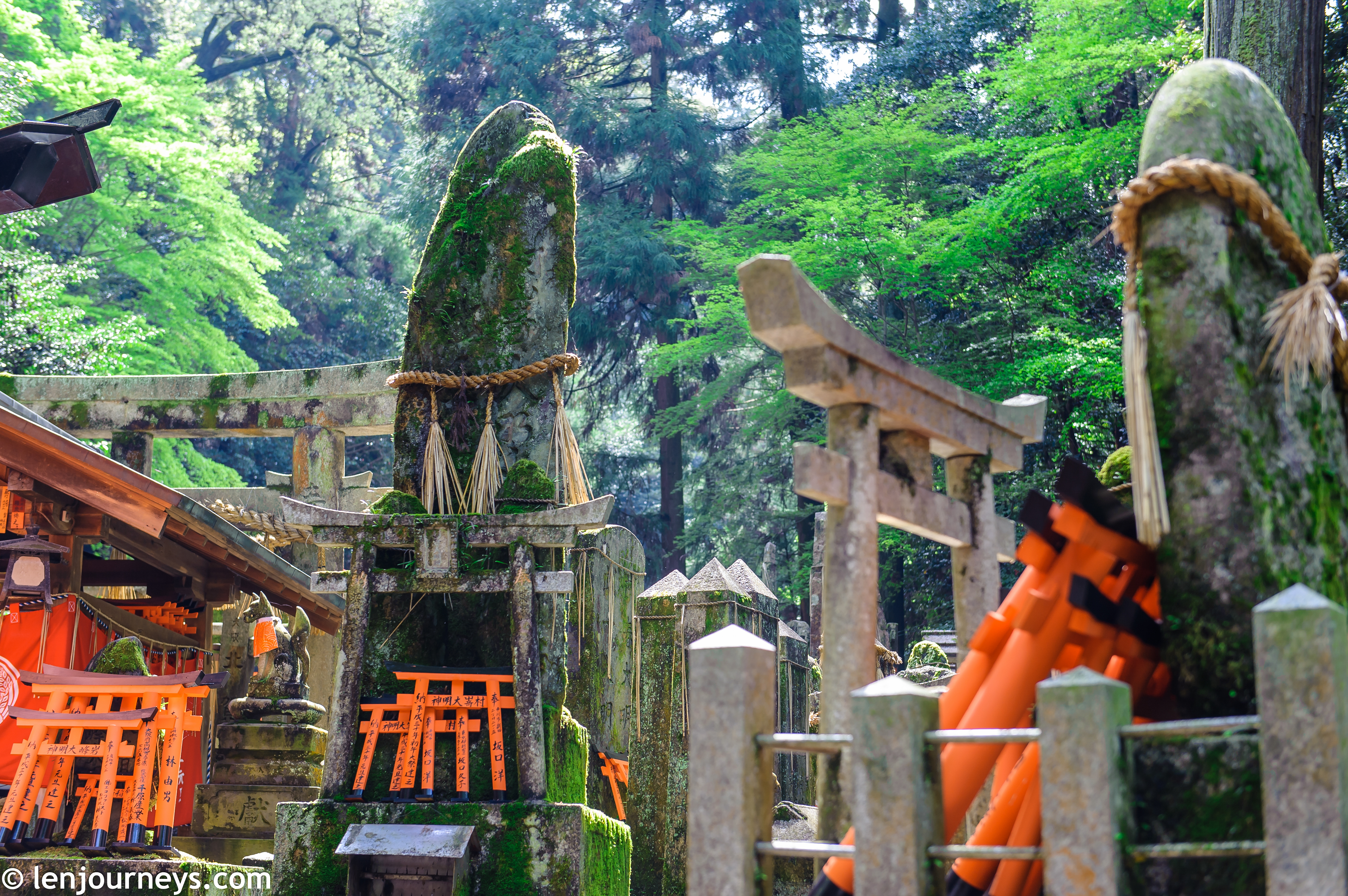 Inner Shrine of Fushimi Inari
