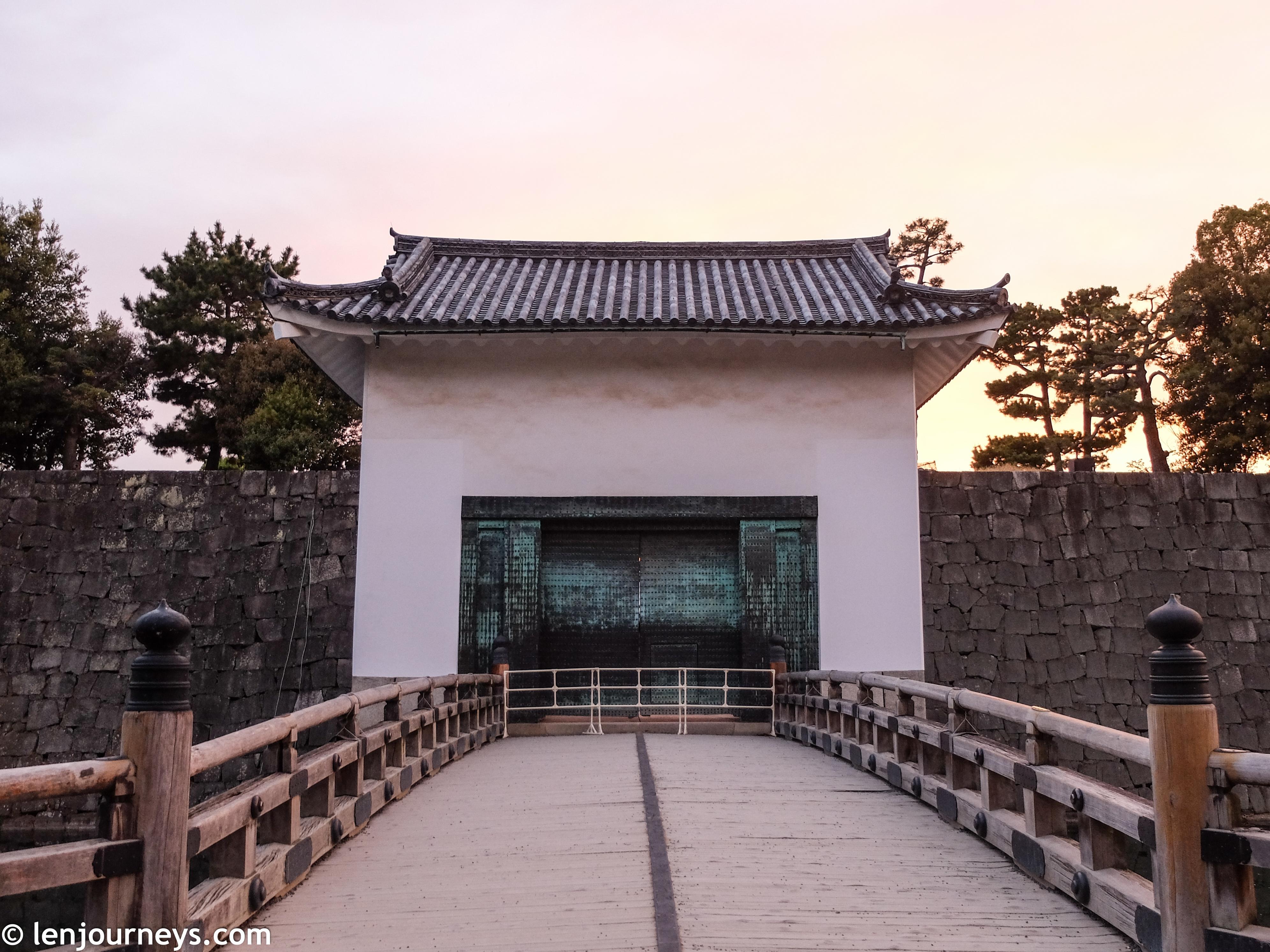 Entrance to Honmaru