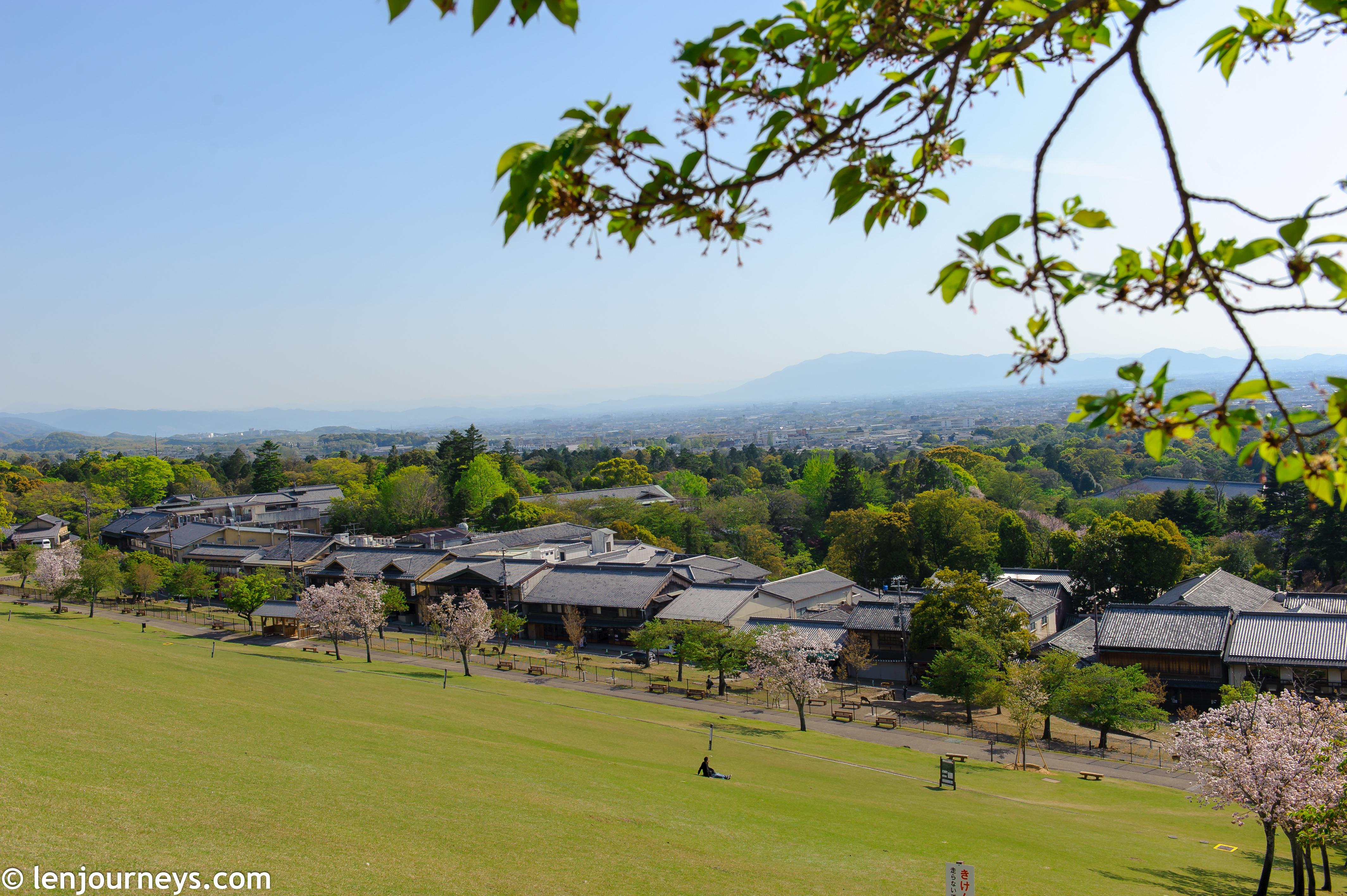 Wakayama hill