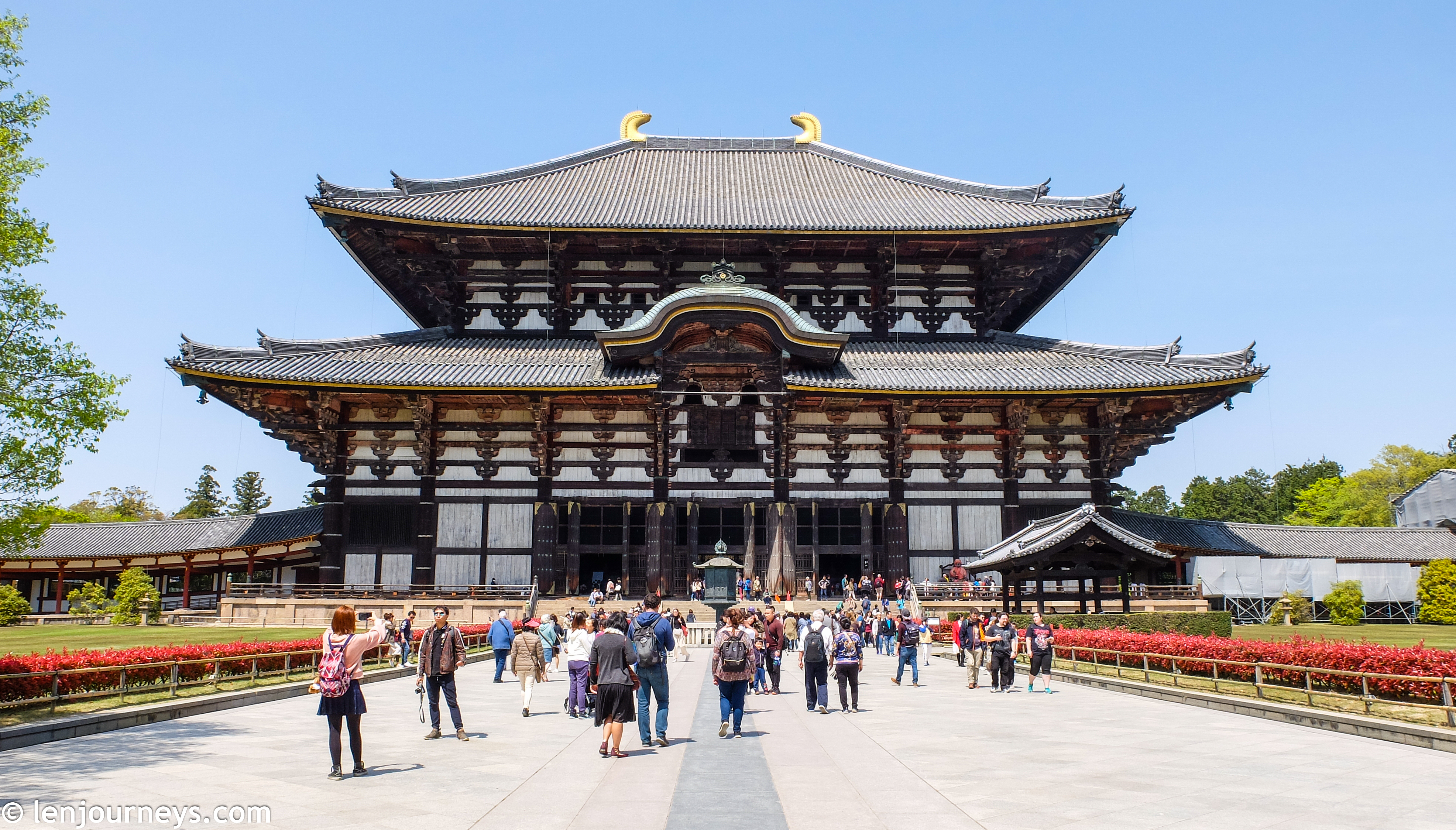 The iconic Tōdai-ji Temple in Nara