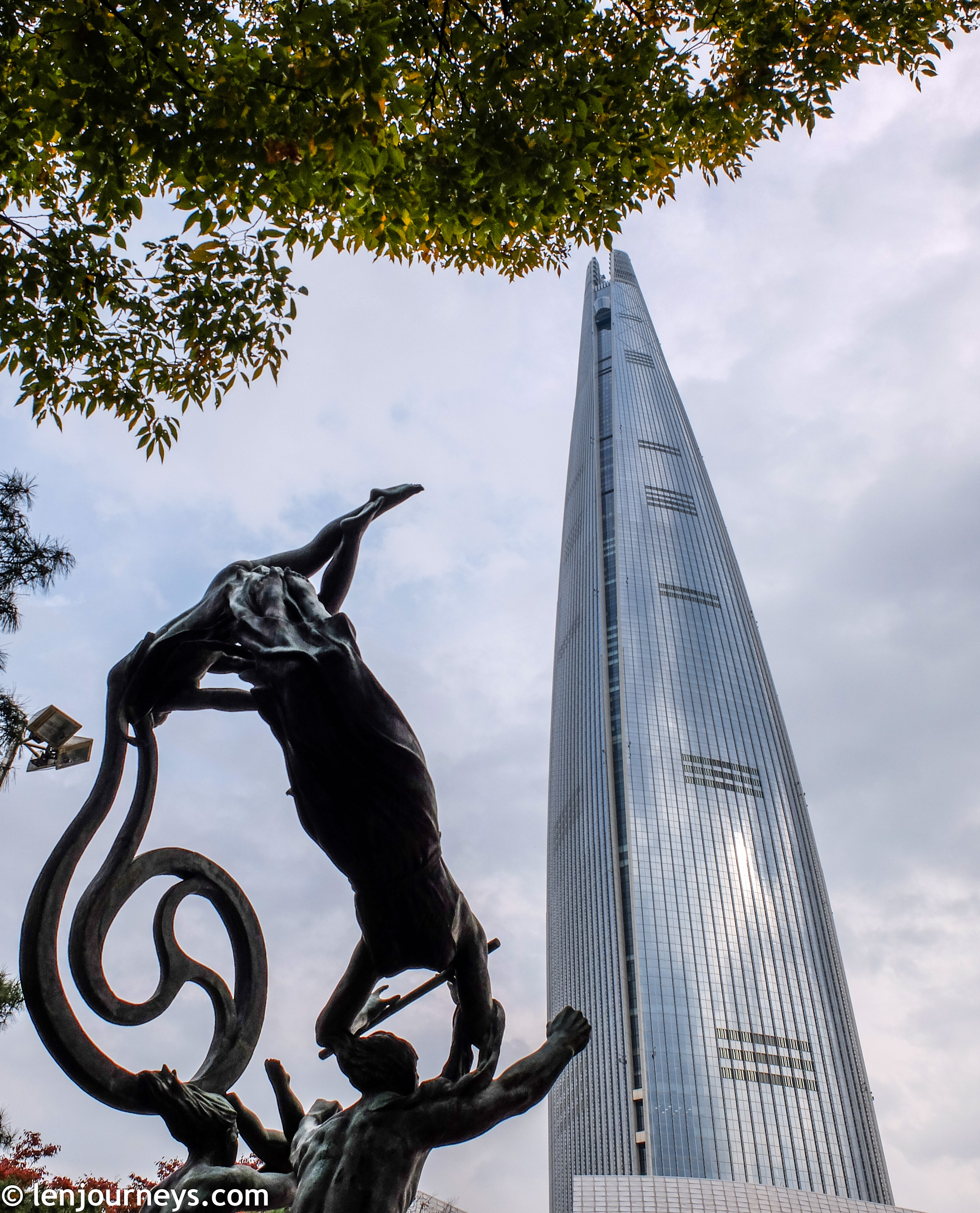 Lotte World Tower, Gangnam