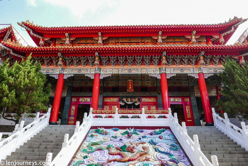 Central hall of Wenwu Temple