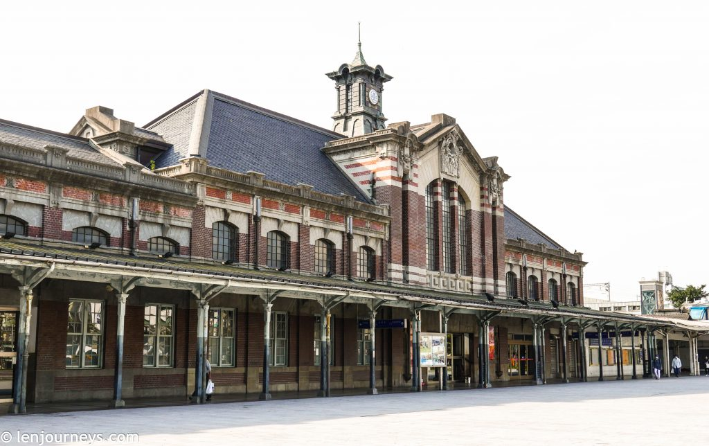 Taichung's old train station