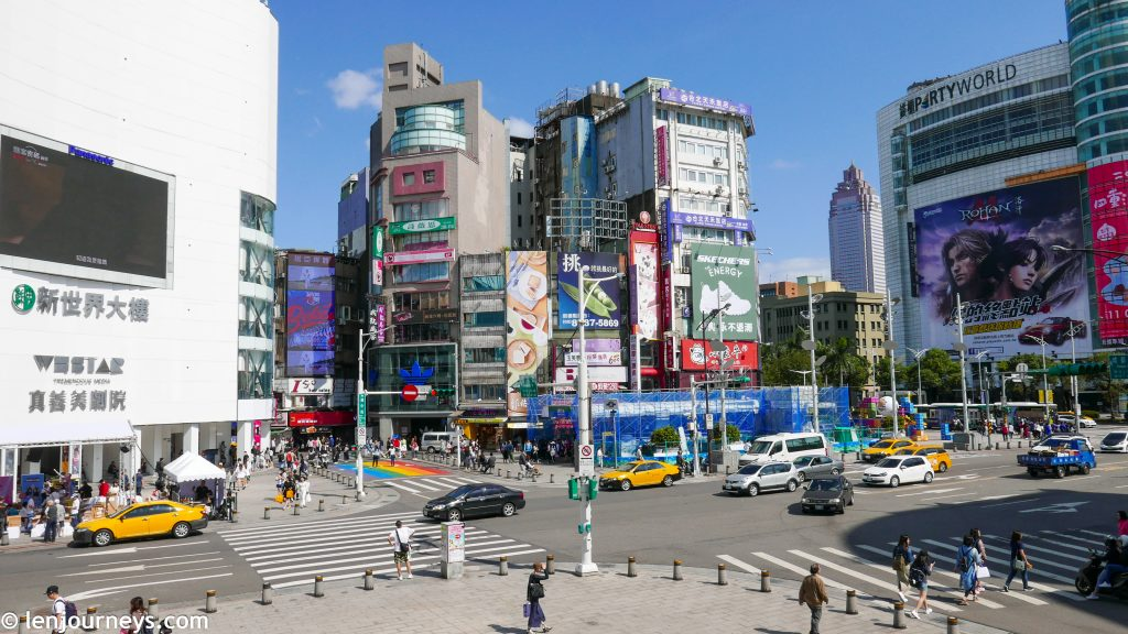 Ximending - Full of sharp energy and vibrant colours