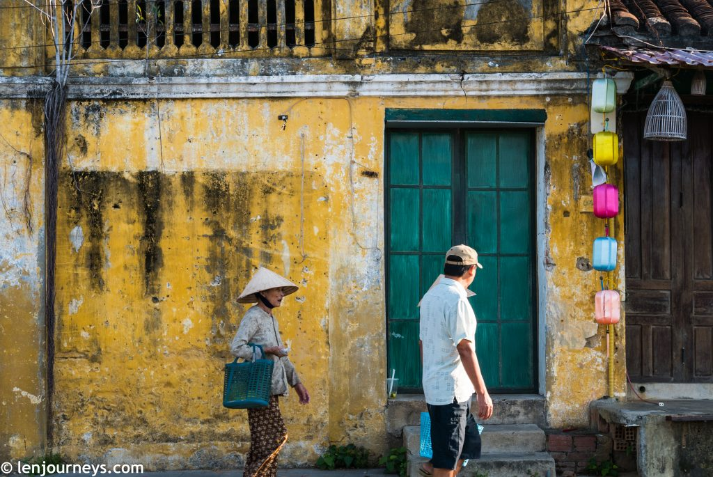 Classic scene at Hoi An