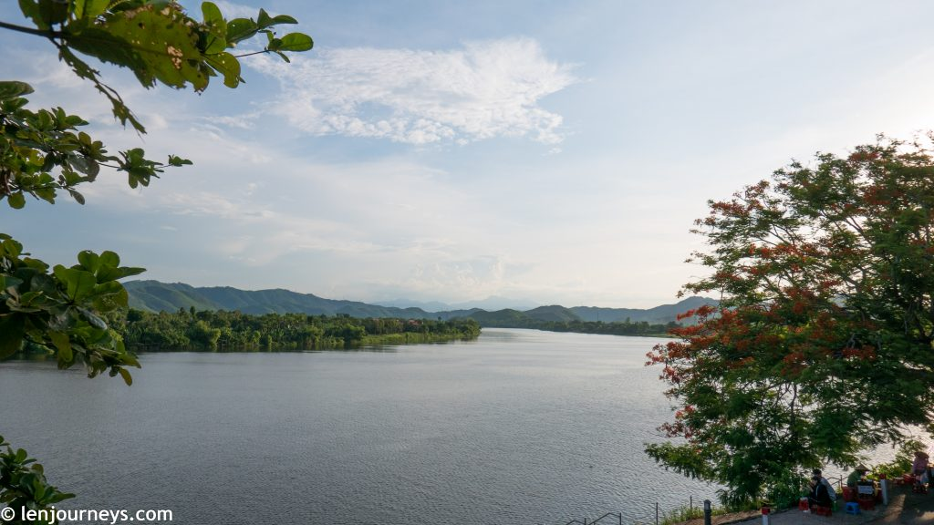 View of the Huong River from Thien Mu Pagoda