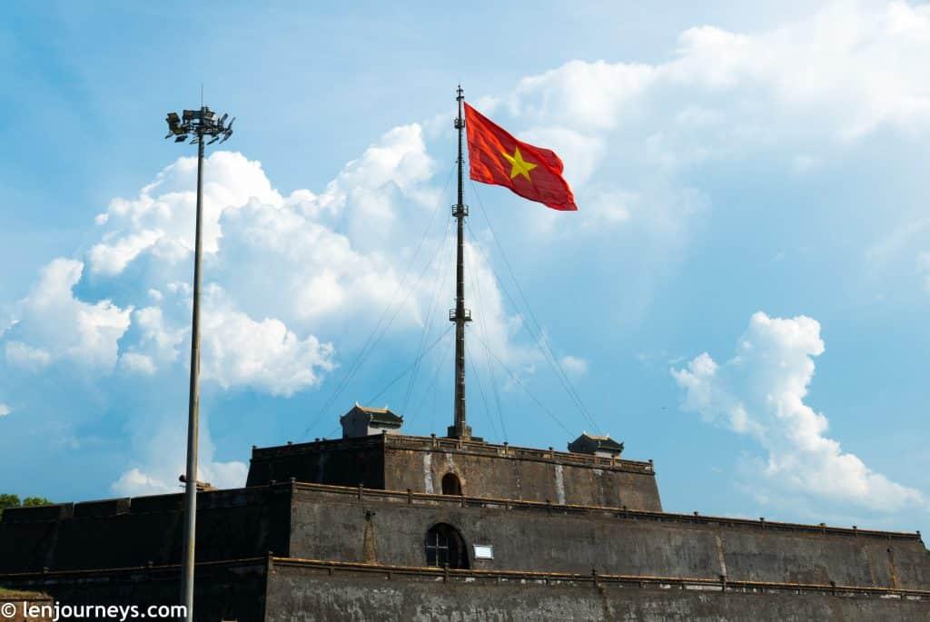 Flag tower of Hue Citadel