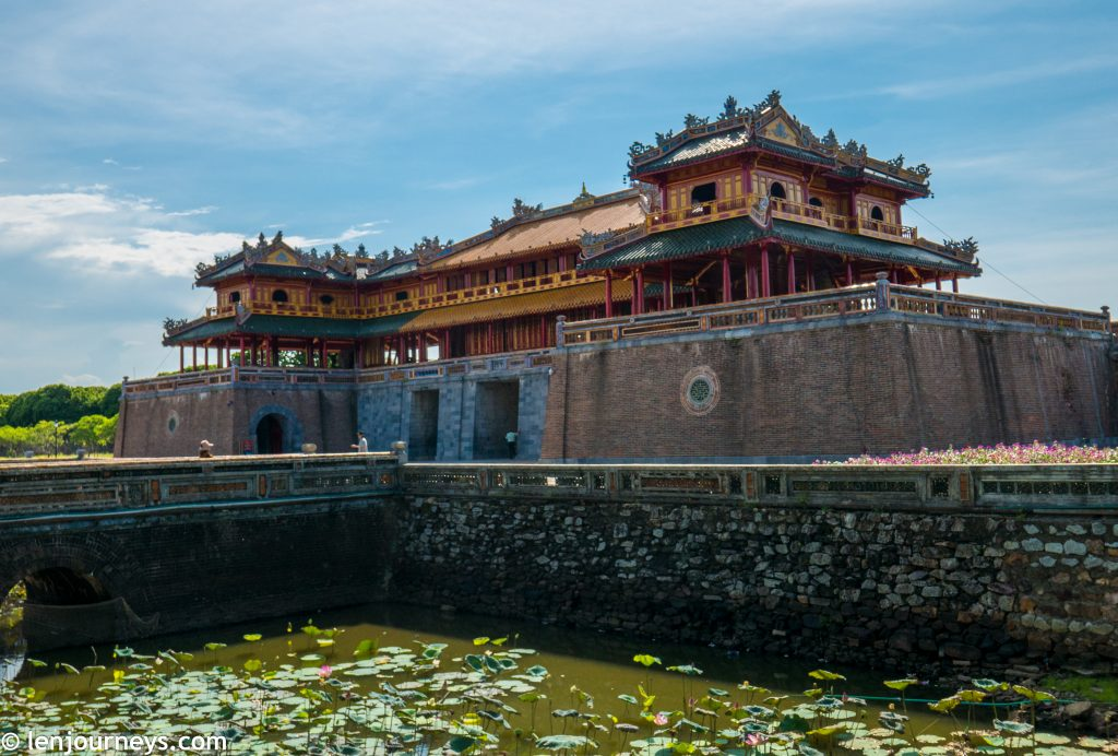 Meridian Gate - Main entrance to Hue Imperial City