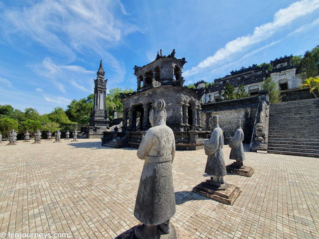 Khai Dinh Tomb near Hue city