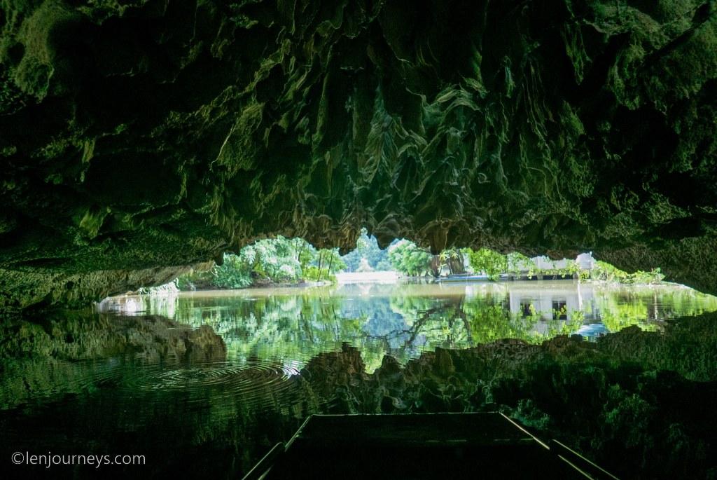Mystical cave at Tam Coc, Ninh Binh