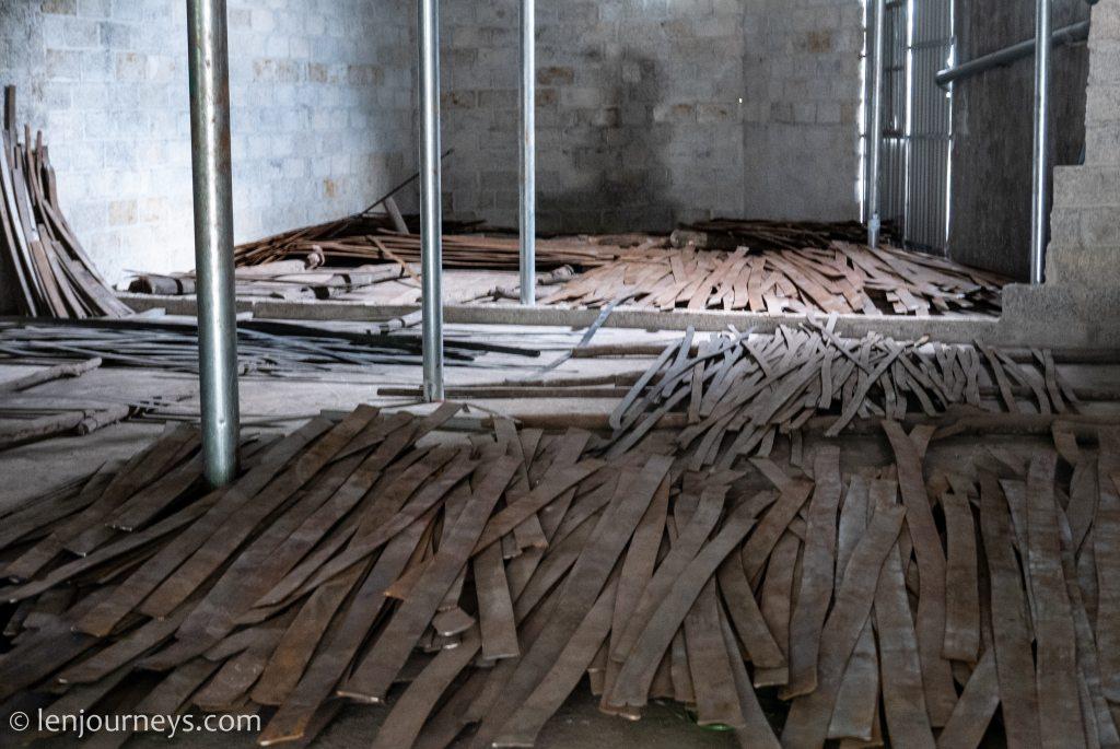 Storehouse full of scrap metal in Pac Rang