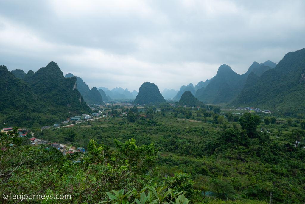 Verdant landscape of Cao Bang