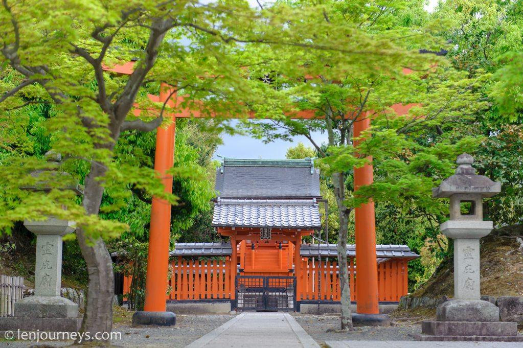 Shrine in Arashiyama