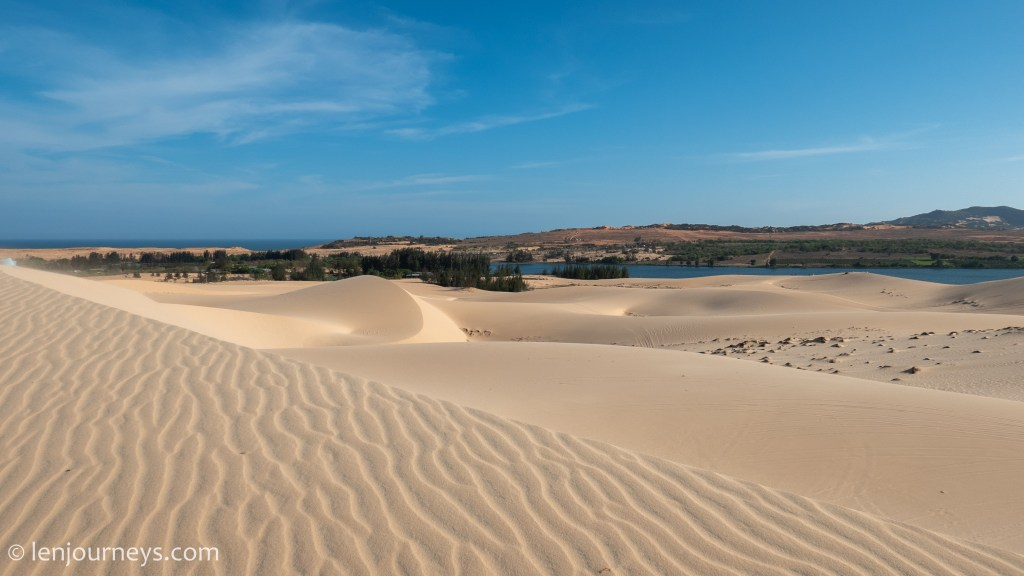 White Sand Dunes, South Central Coast
