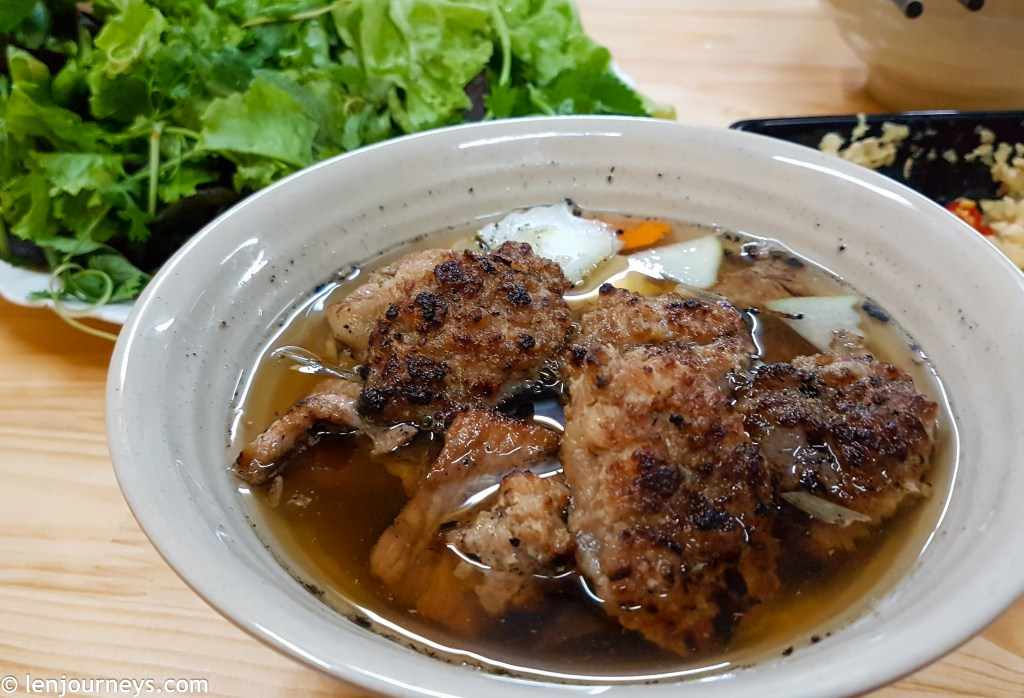 Grilled pork with vermicelli, Northern Vietnamese cuisine