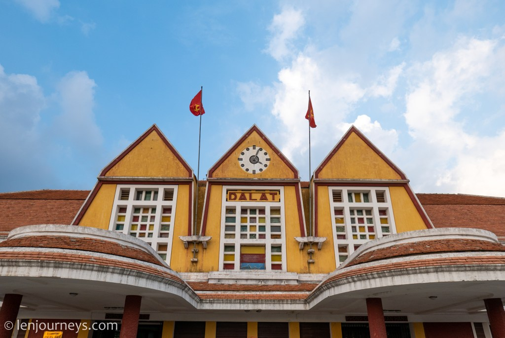 Da Lat Station - a former gateway to this hilly town
