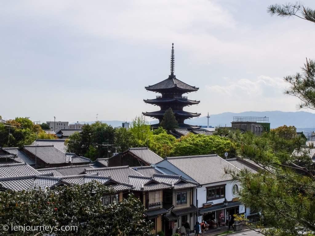 Pagoda in Kyoto