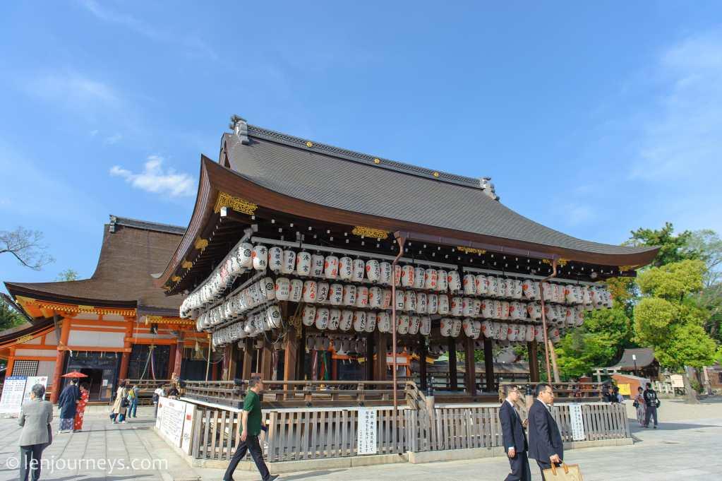 Yasaka Shrine in Gion District, Kyoto