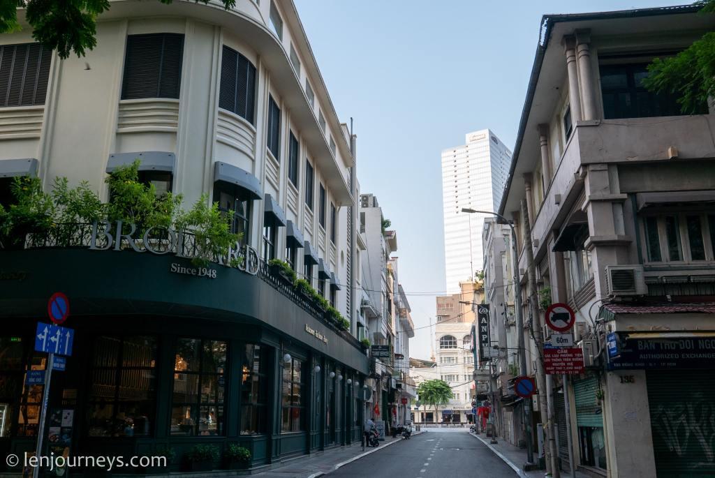 A corner on Dong Khoi Street