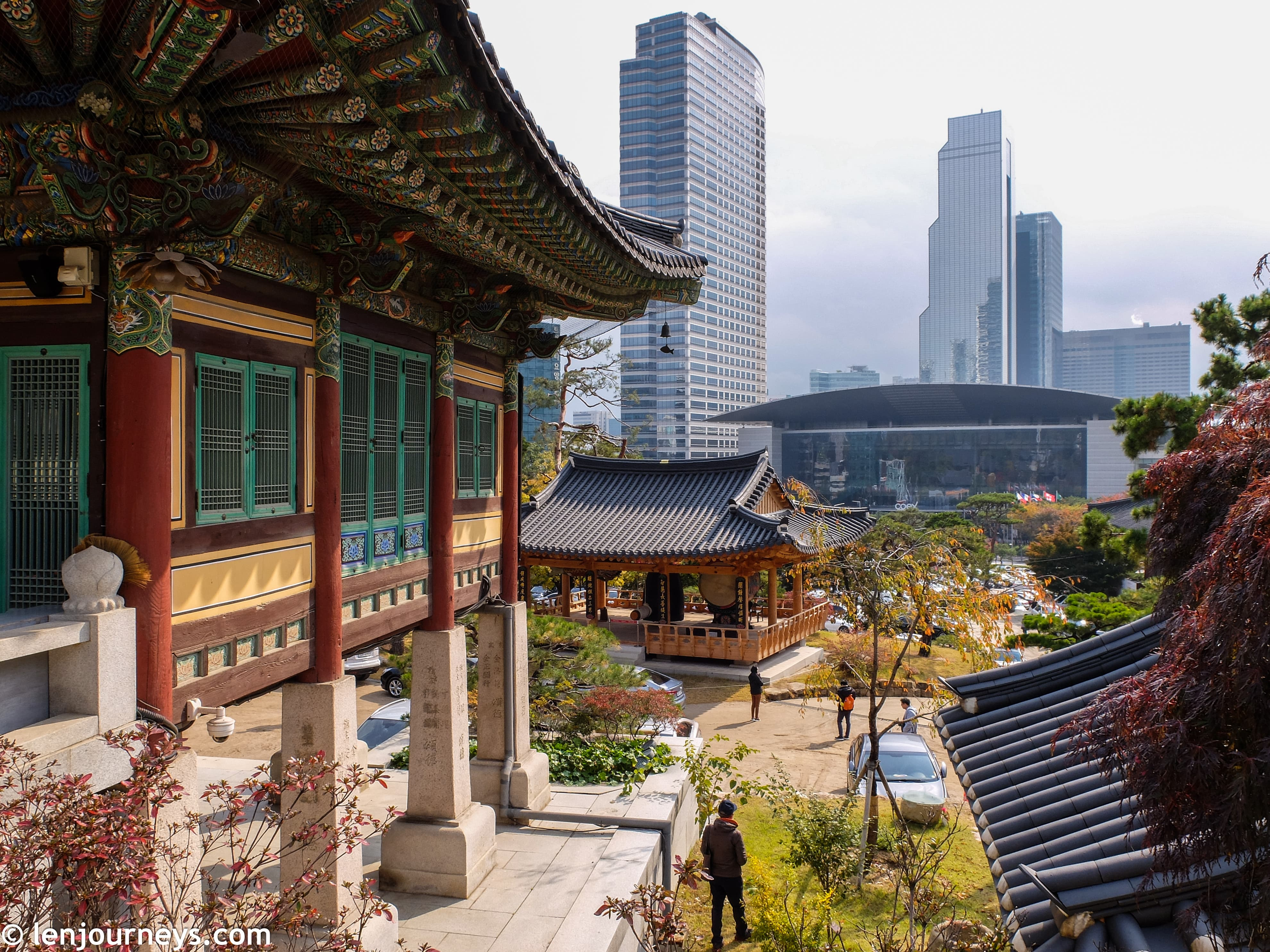 When old meets new in Gangnam