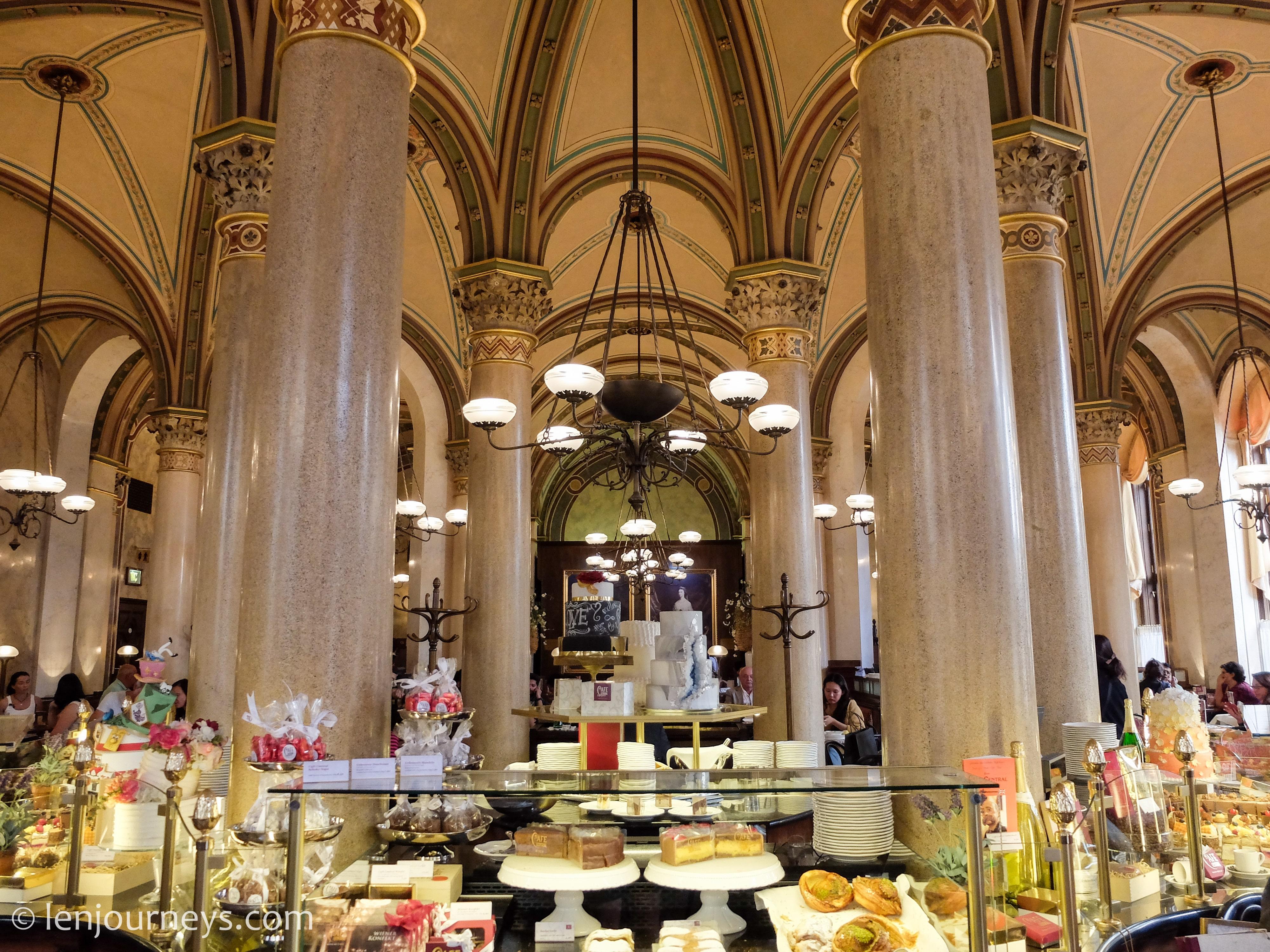 Interior of Café Central