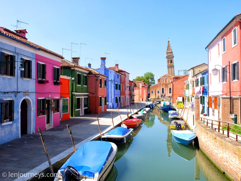 The colourful waterway