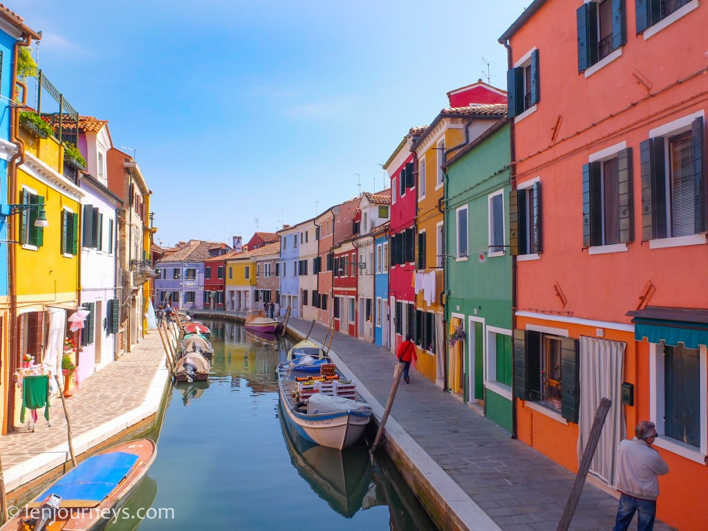 The symphony of colours in Burano Island