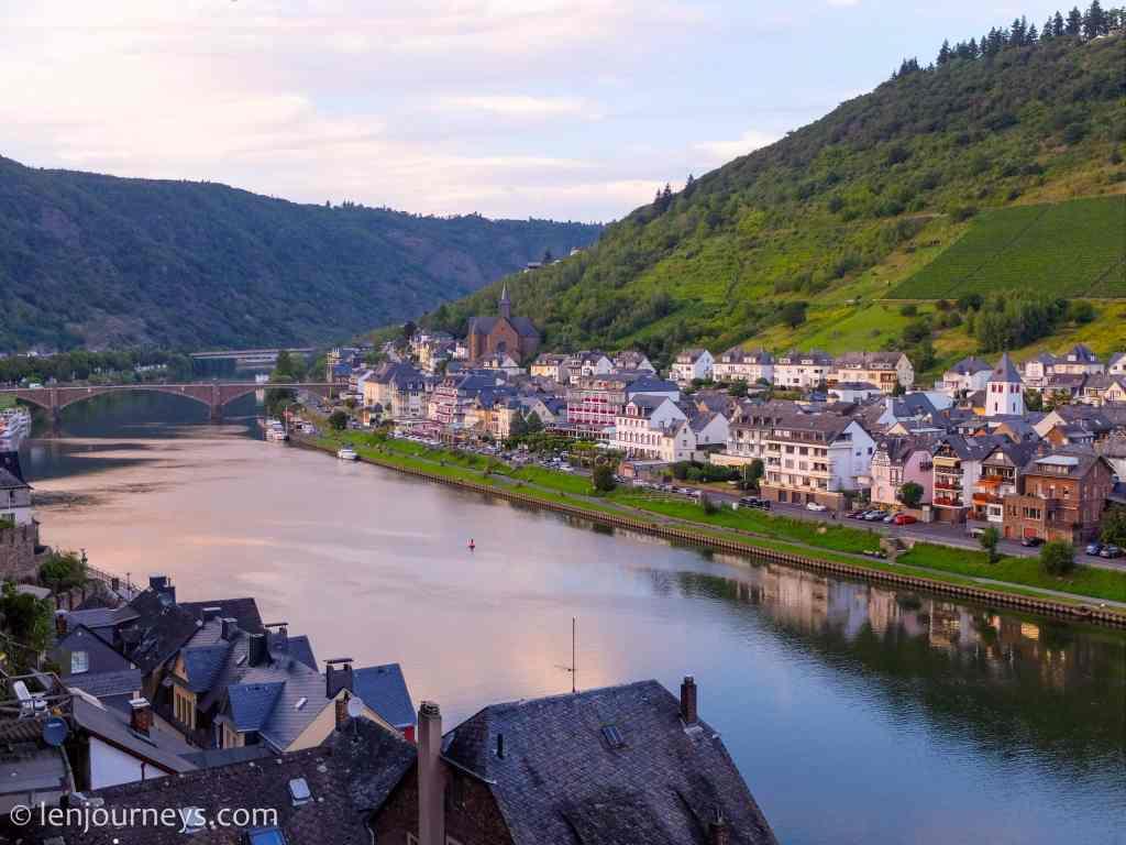 Moselle River running through Cochem