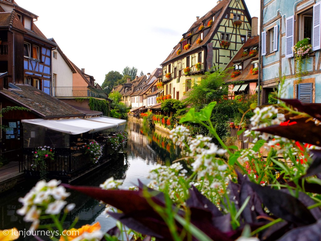 Canal in Colmar, Alsace