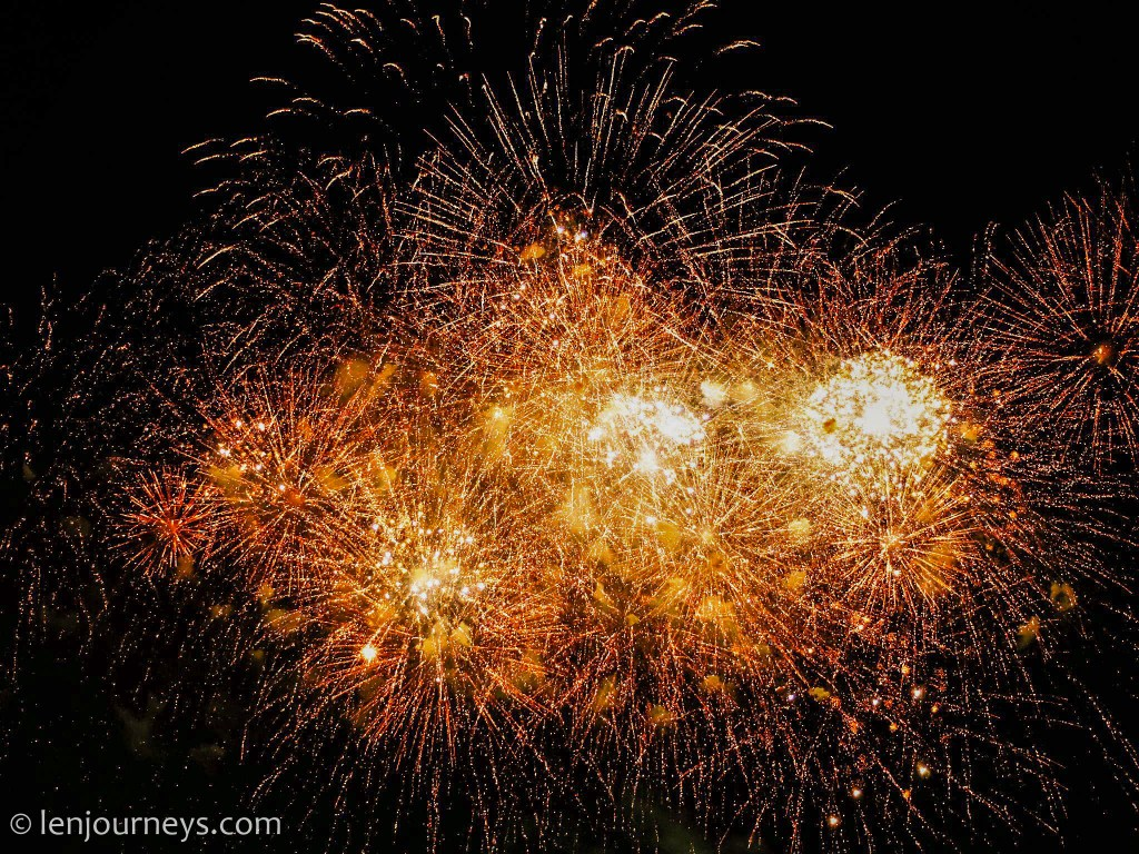 Fireworks Festival at the Great Garden, Hanover