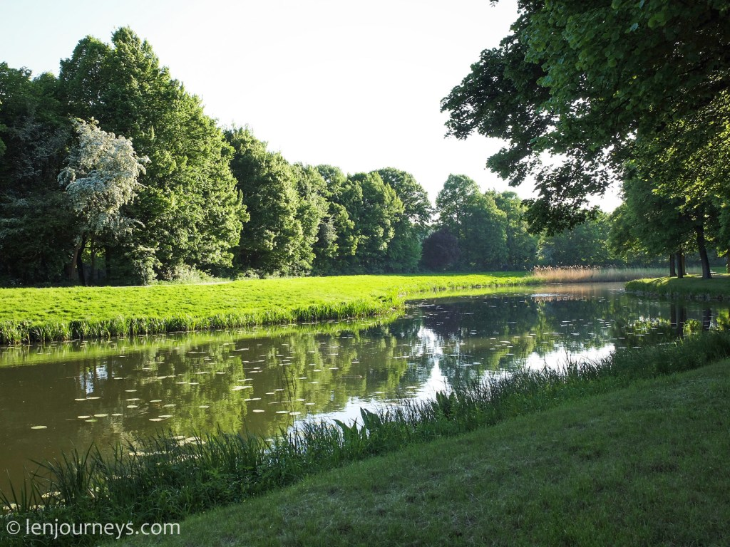 A peaceful moment in the Herrenhausen Gardens