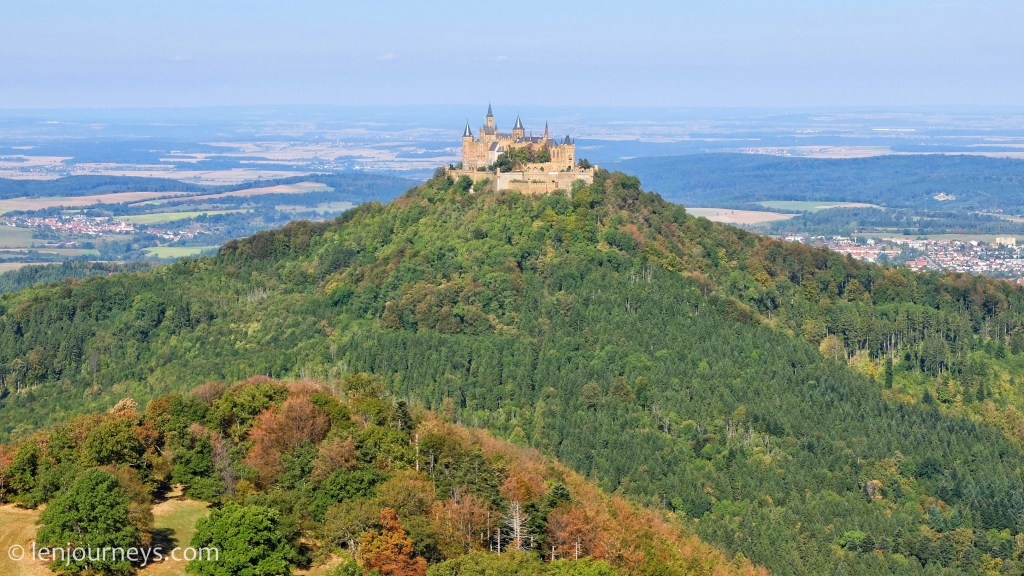 Panoramic view of Hohenzollern Castle