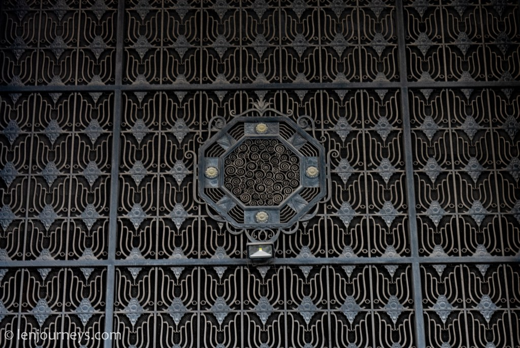 Decorative work made of wrought iron, State Bank of Vietnam