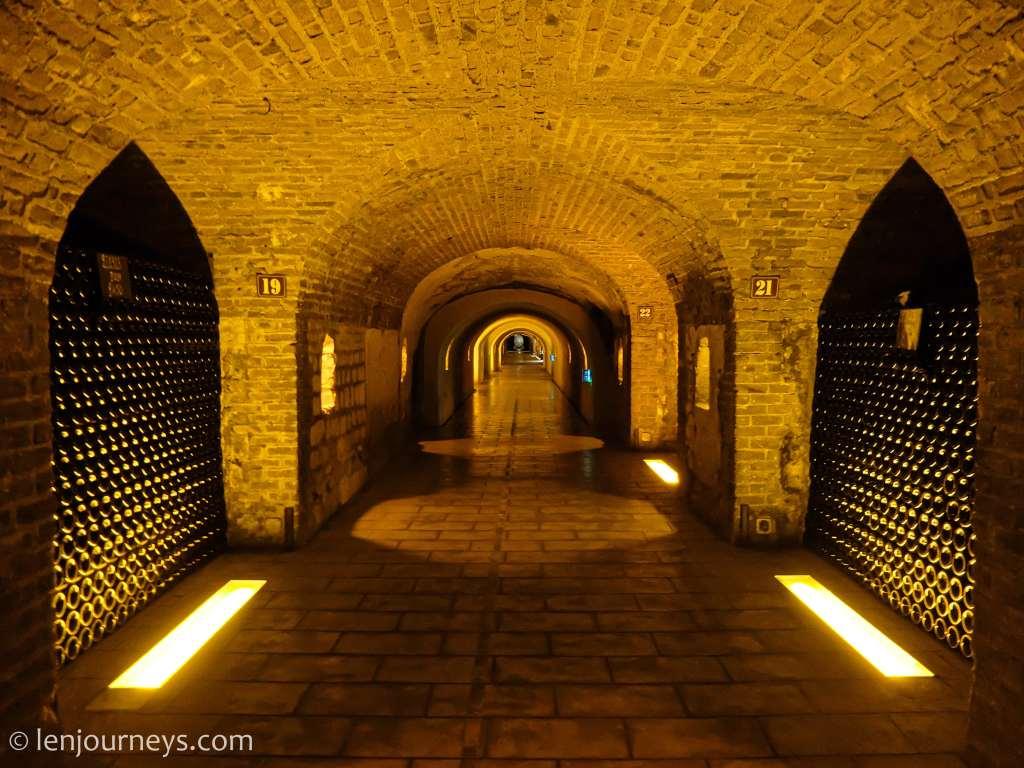 Moët amd Chandon Wine Cellar, Champagne