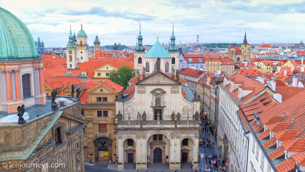 Prague Old Town. Often referred to as the City of Hundred Spires