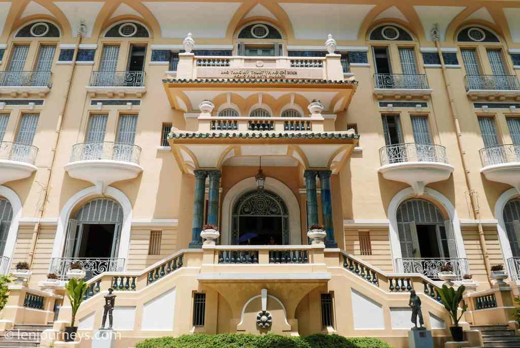 Beautiful façade of the Museum of Fine Arts