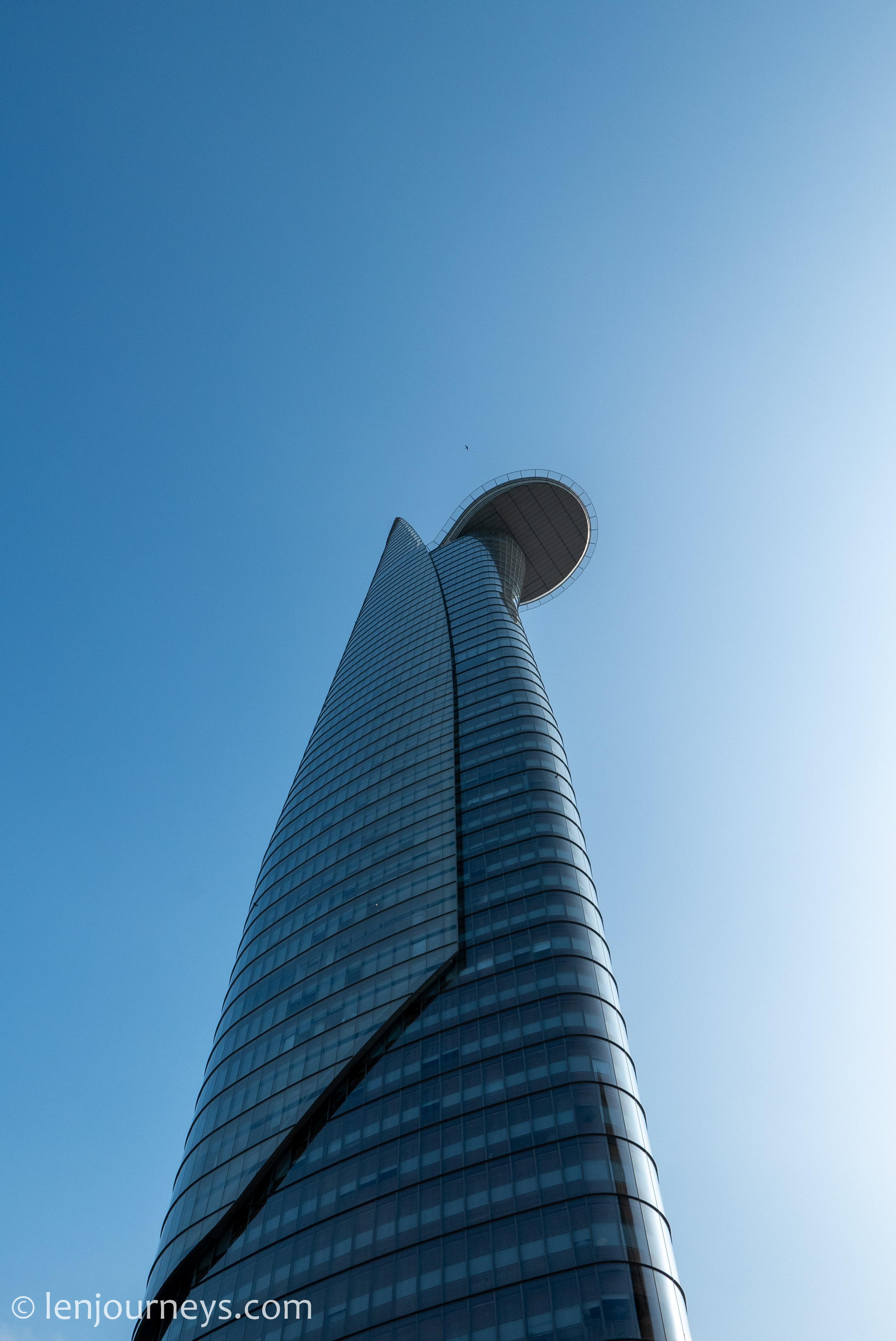 Sleek curves of Bitexco Tower